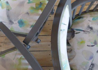 Ensemble canapé fauteuils chaises
