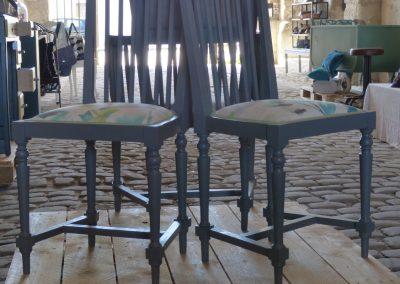 Ensemble, canapé, fauteuils et chaises